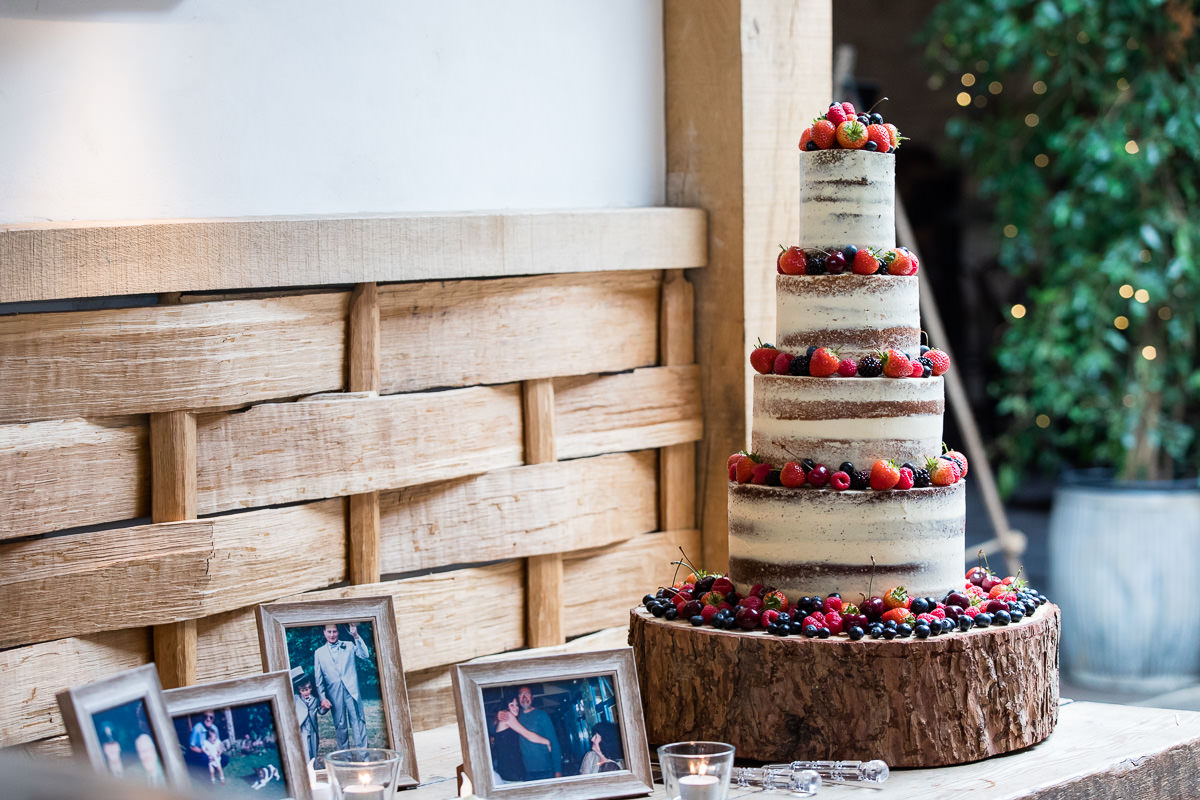 Cripps Barn wedding cake
