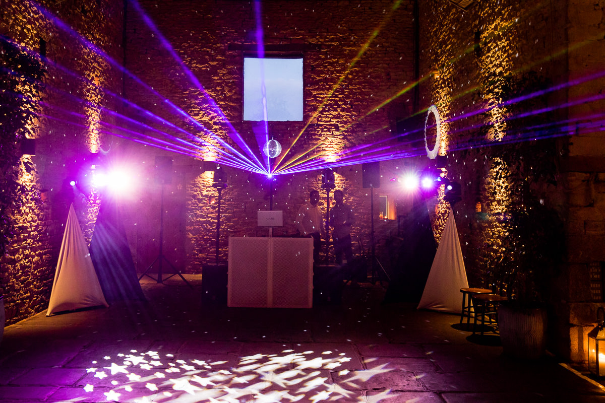 Cripps Barn wedding dancefloor