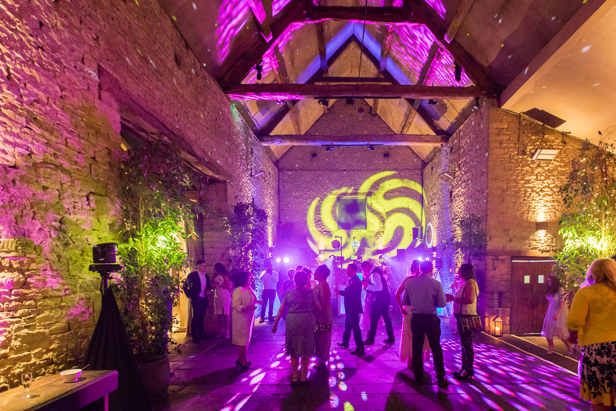 Cripps Barn wedding disco