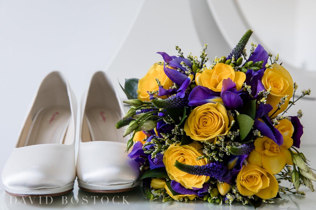 Hertford College wedding bouquet