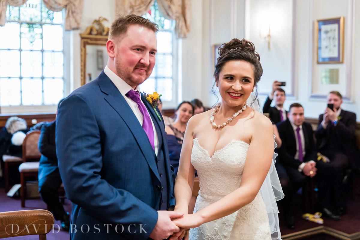 Hertford College Oxford wedding vows