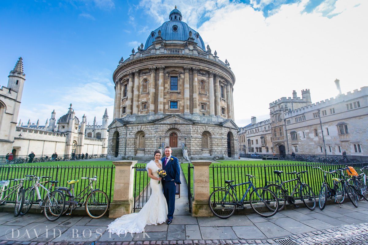 Hertford College Oxford wedding Radcliffe Camera
