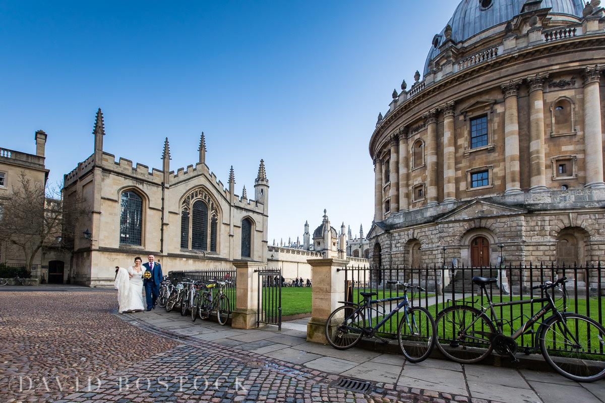 Hertford College Oxford wedding landmarks