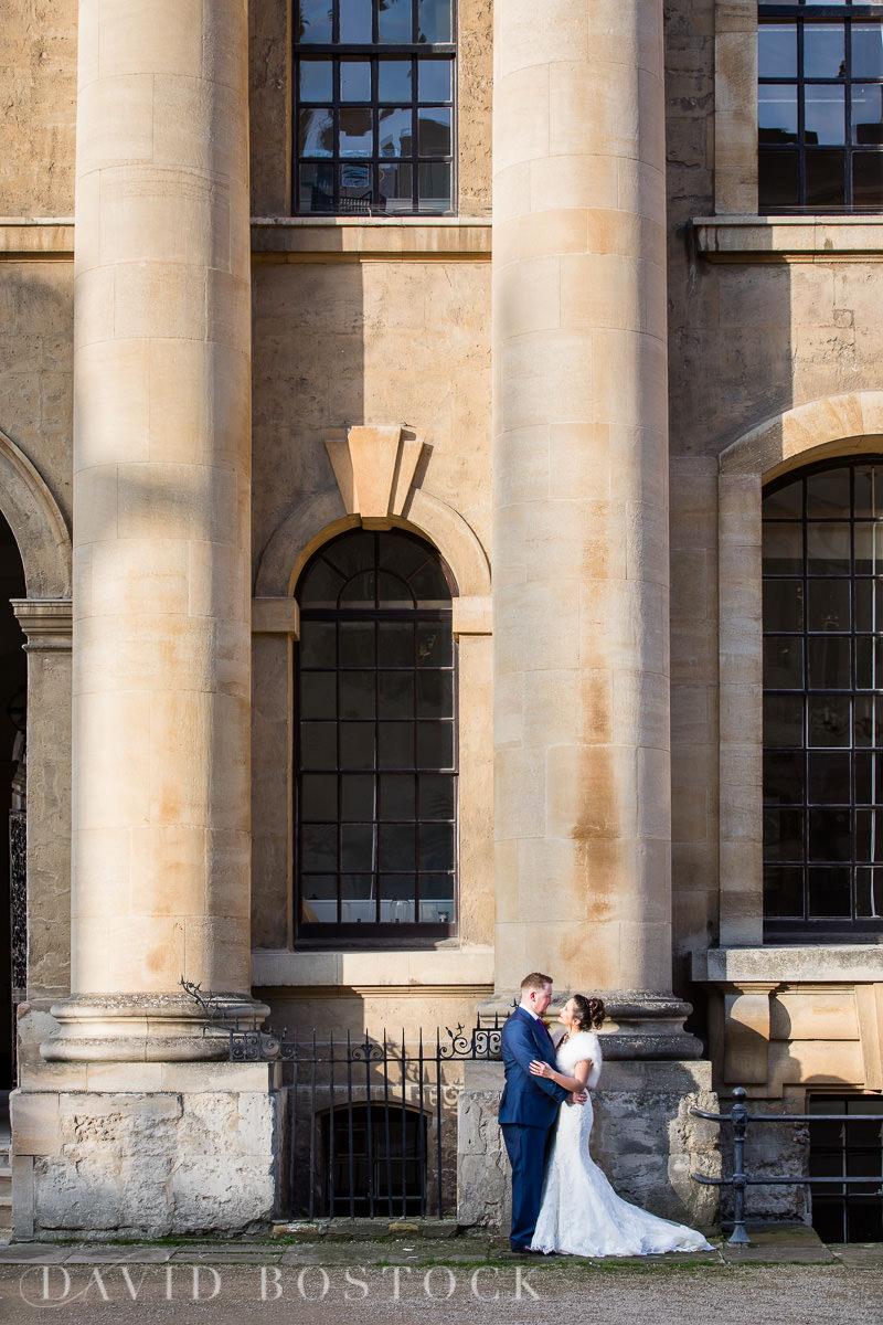 Hertford College Oxford wedding romantic