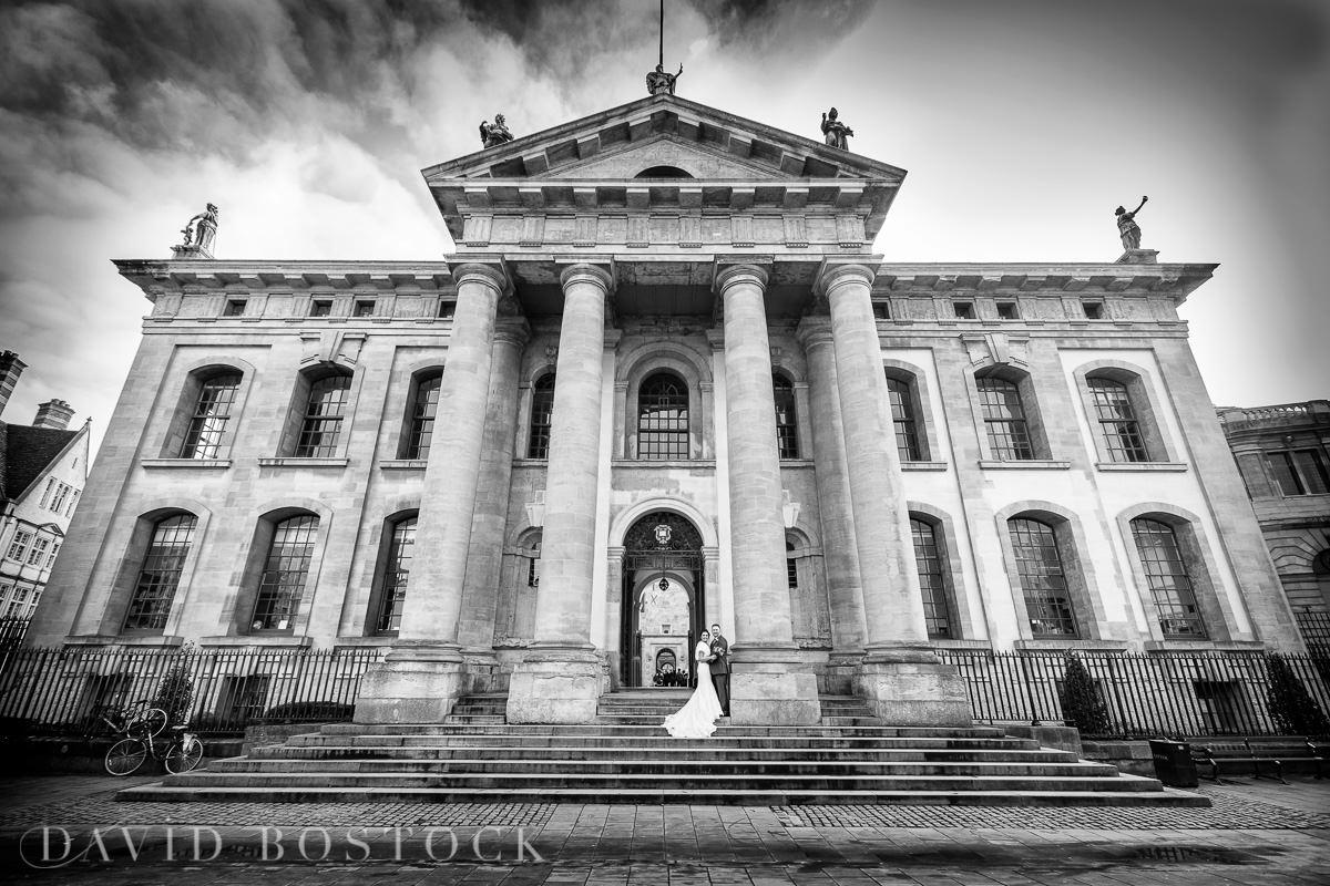 Hertford College Oxford wedding dramatic