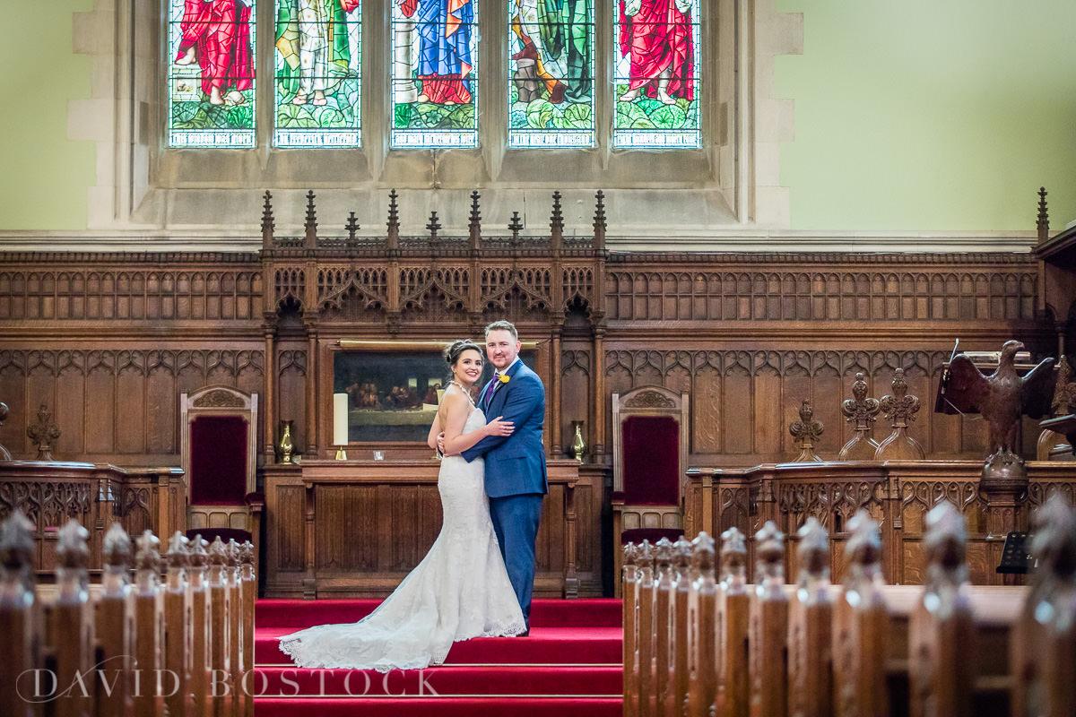 Hertford College Oxford wedding chapel