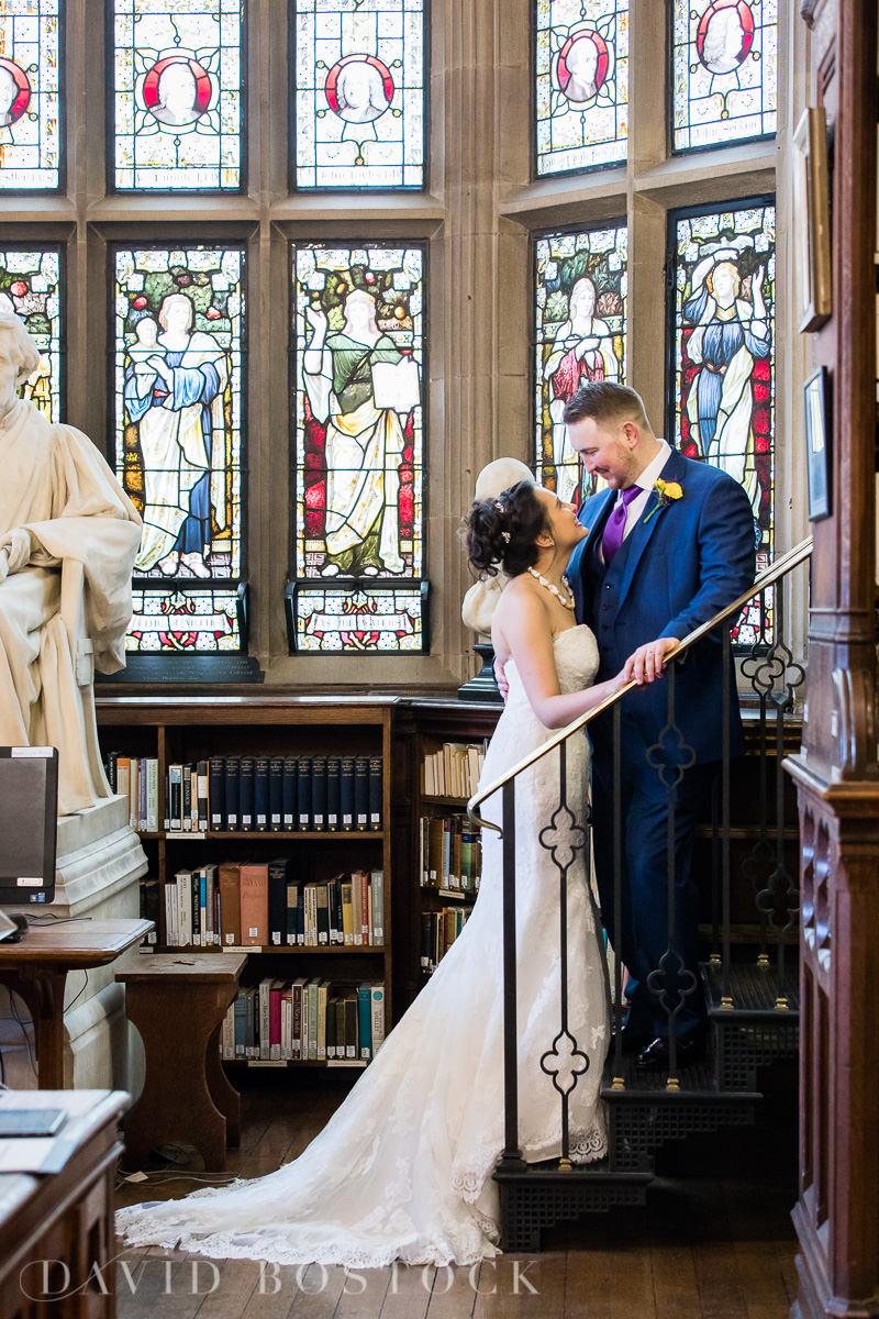 Hertford College Oxford wedding manchester library