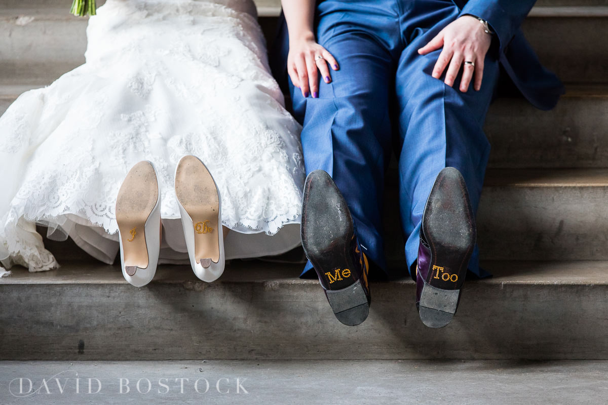 Hertford College Oxford wedding shoes