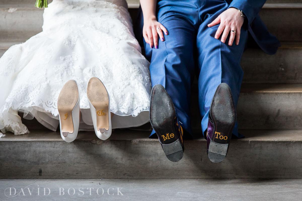 Hertford College Oxford wedding shoes