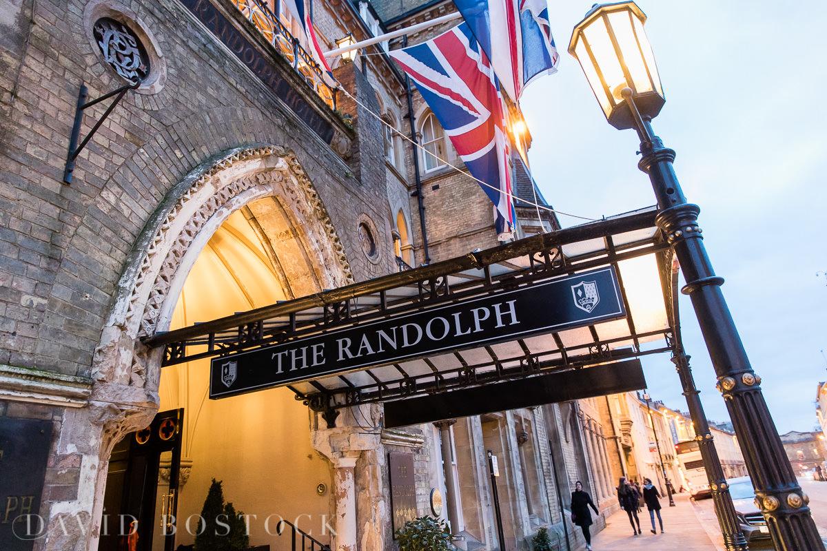 Hertford College Oxford wedding The Randolph Hotel