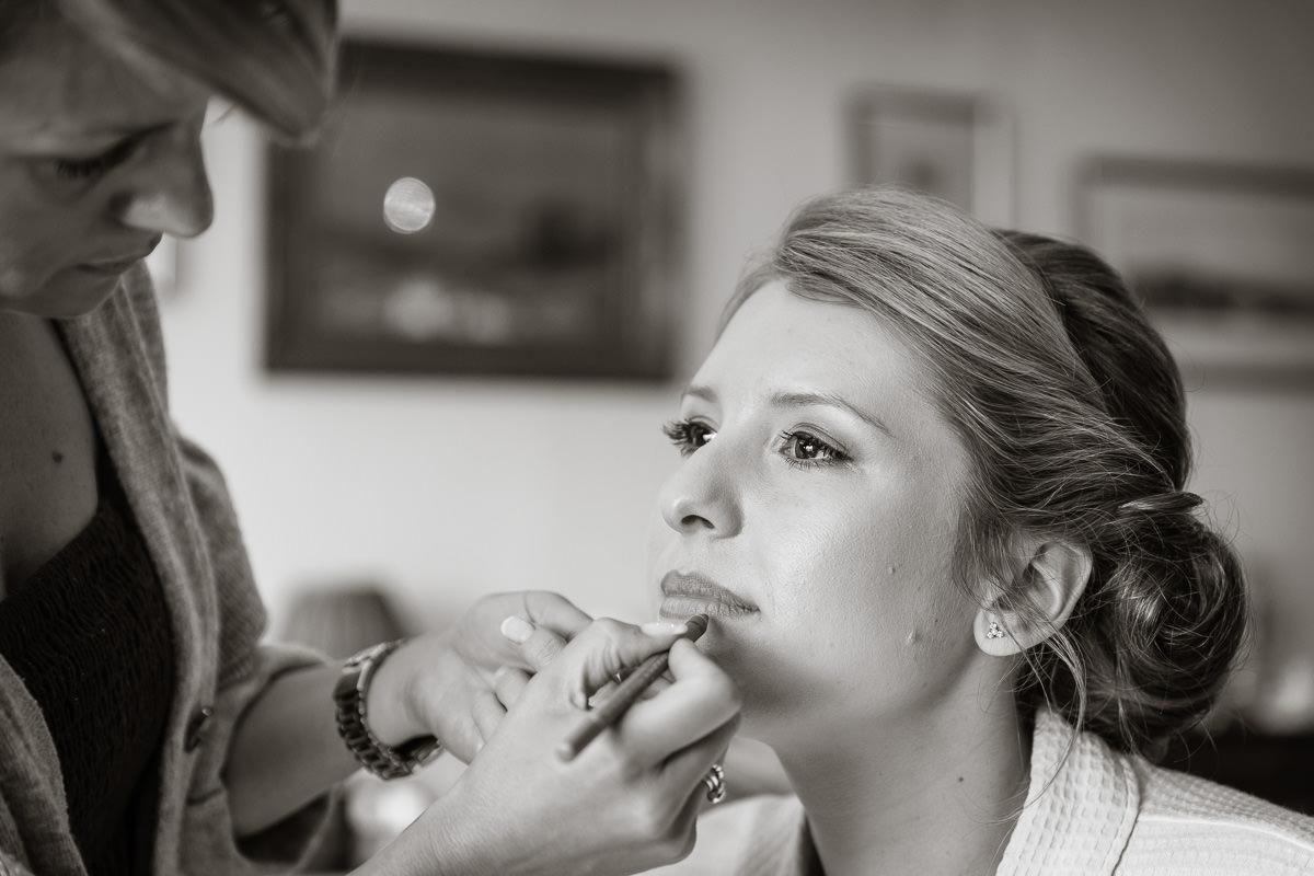 Ardington House wedding bridal make up