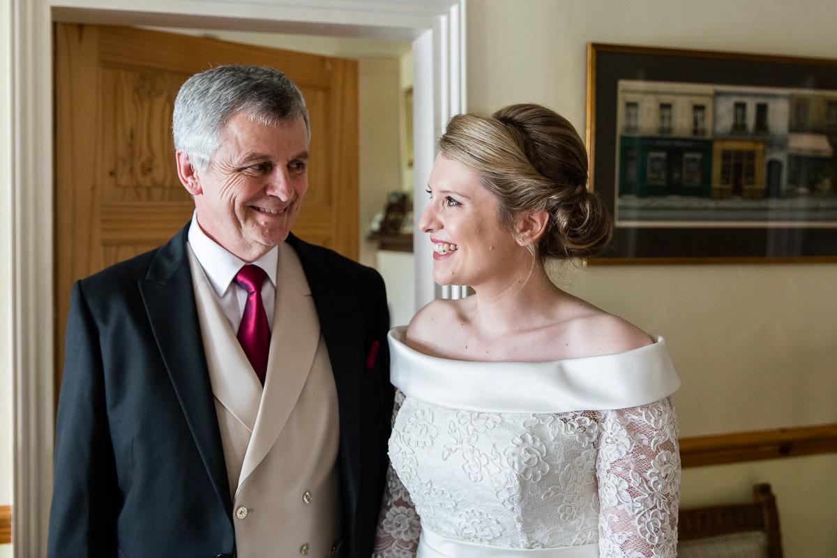 Ardington House wedding father of the bride