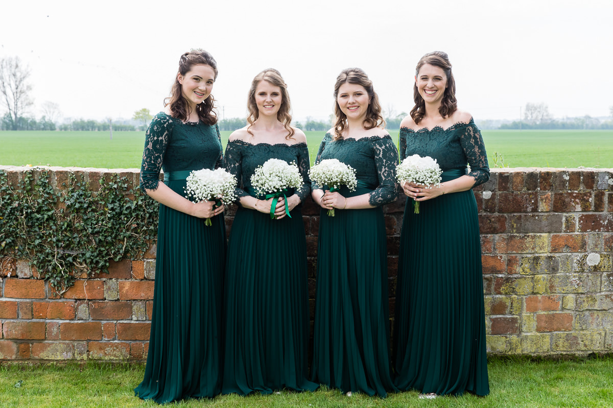 Ardington House wedding bridesmaids