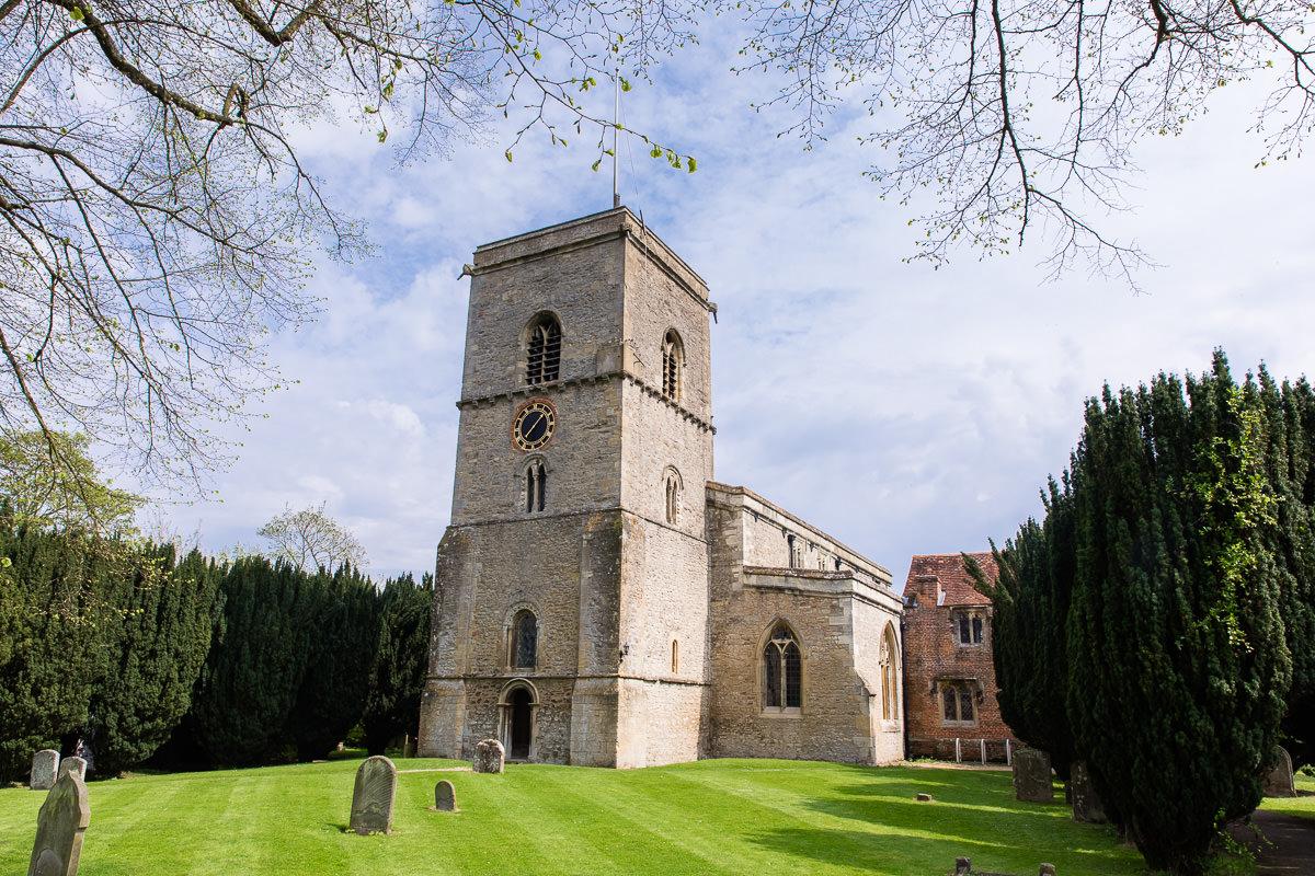 Ardington House wedding church at Sutton Courtenay
