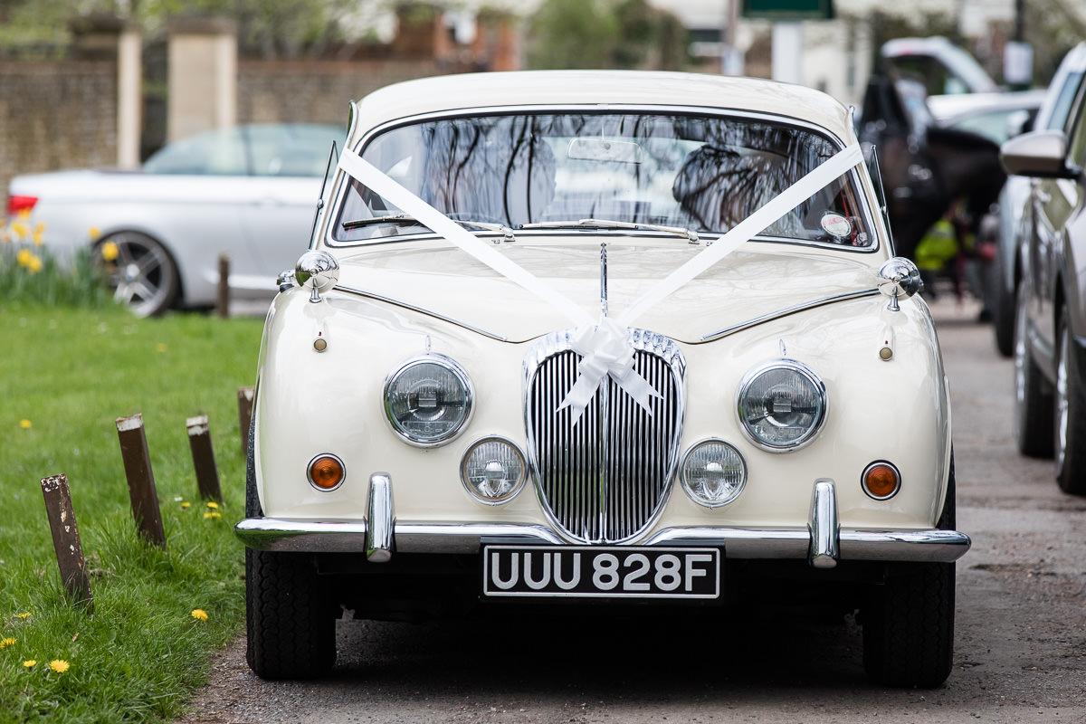 Ardington House wedding car