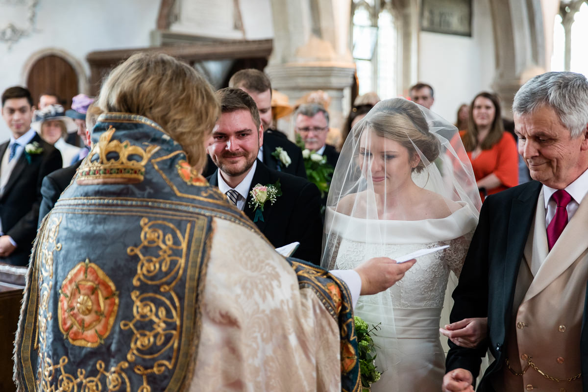 Ardington House wedding church ceremony