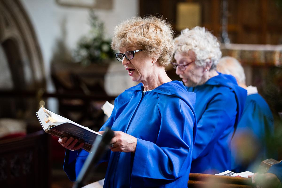 Ardington House wedding choir