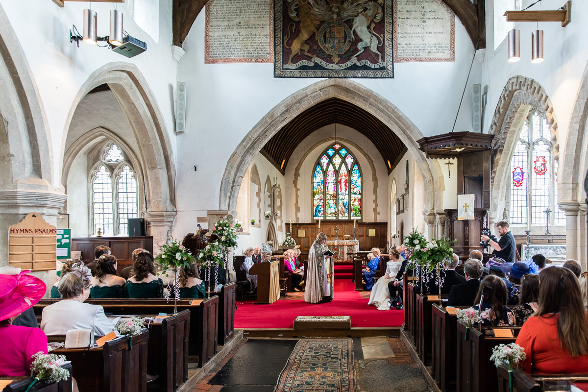 Ardington House wedding church reading