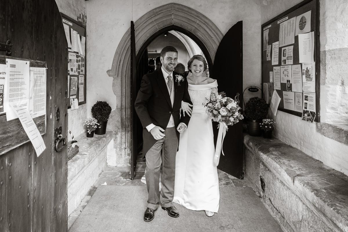 Ardington House wedding just married
