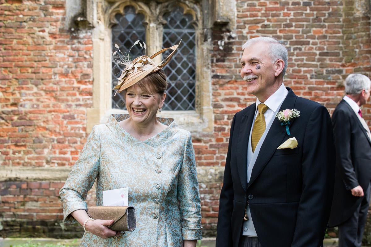 Ardington House wedding parents