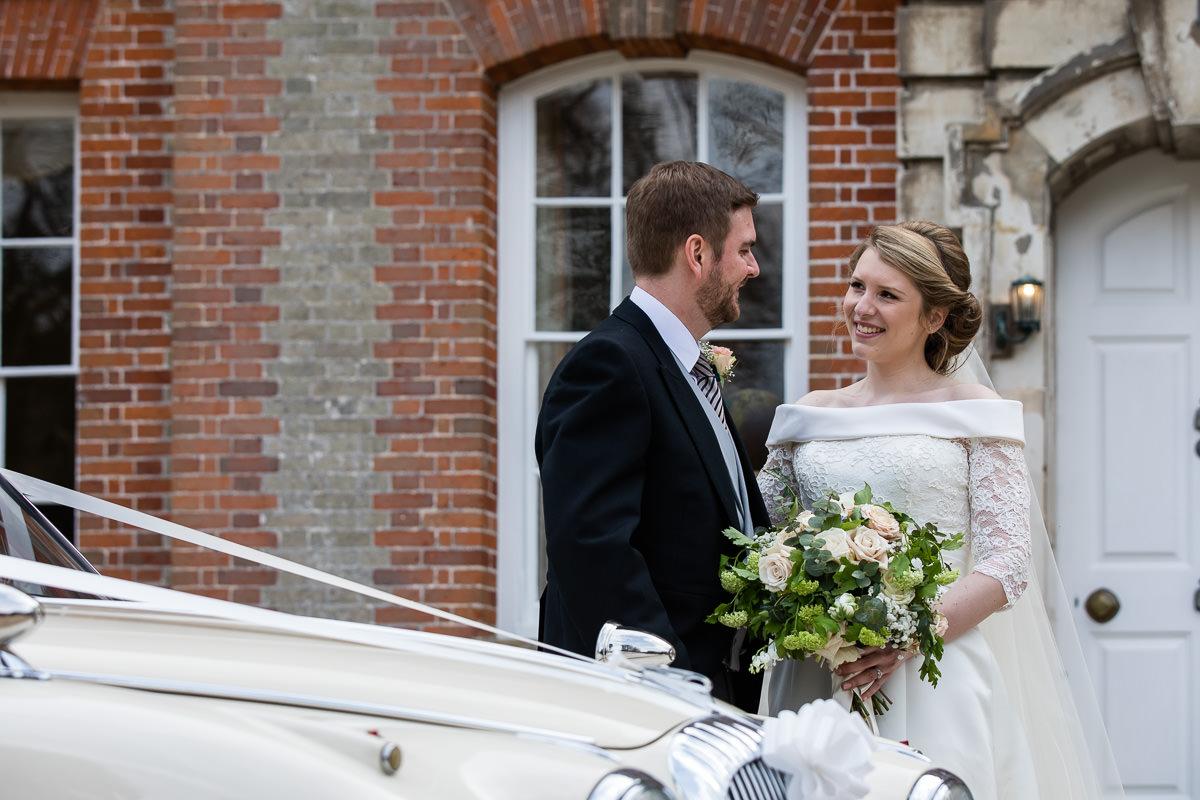 Ardington House wedding happy couple