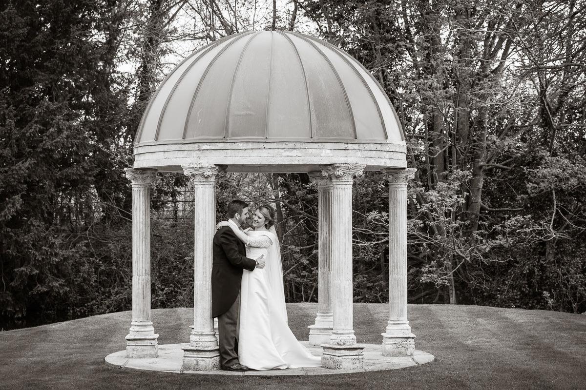 Ardington House wedding outdoor shot