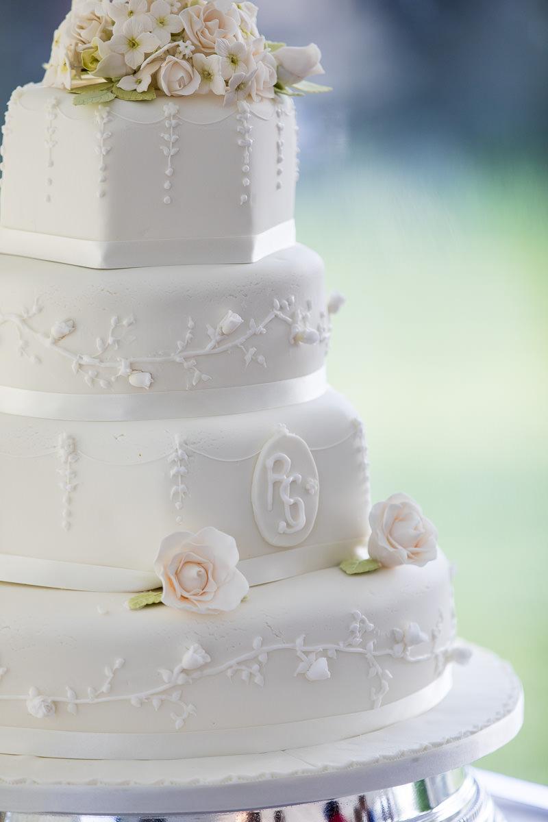 Ardington House wedding cake