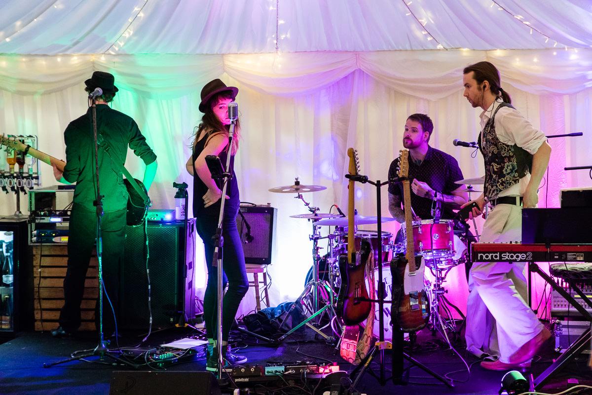Ardington House wedding band