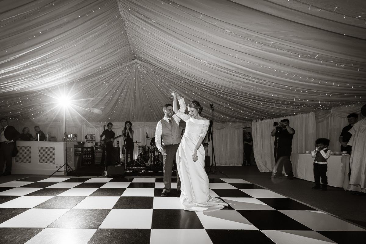Ardington House wedding first dance