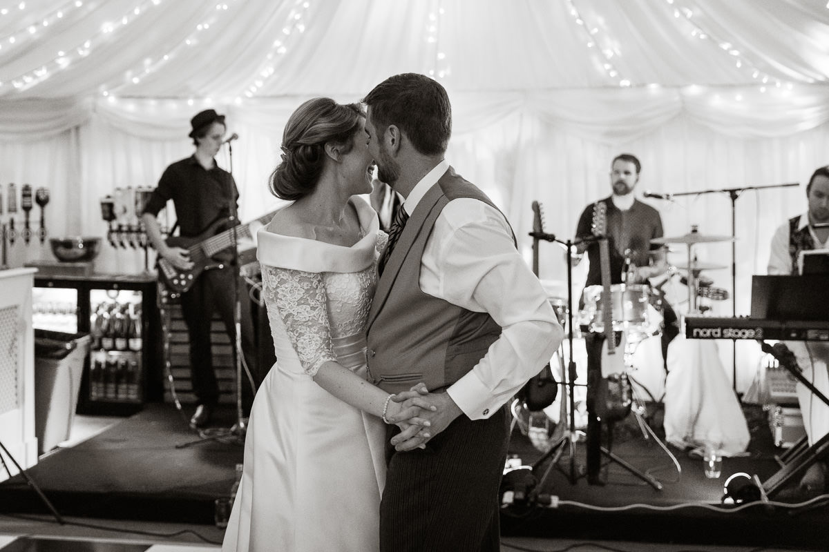 Ardington House wedding romantic first dance