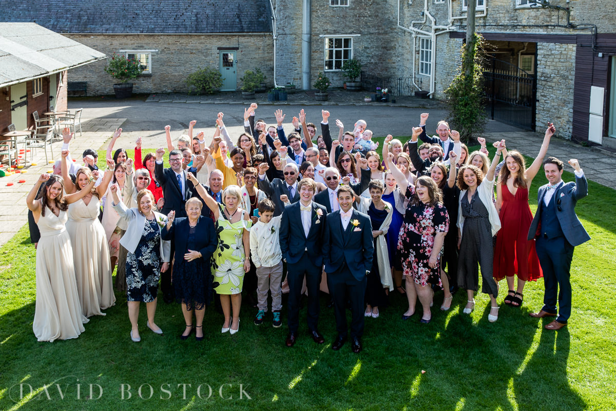 The Great Barn Aynho wedding guests
