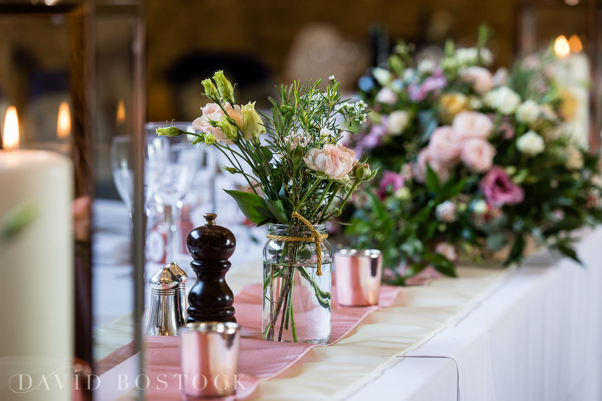 The Great Barn Aynho wedding flowers