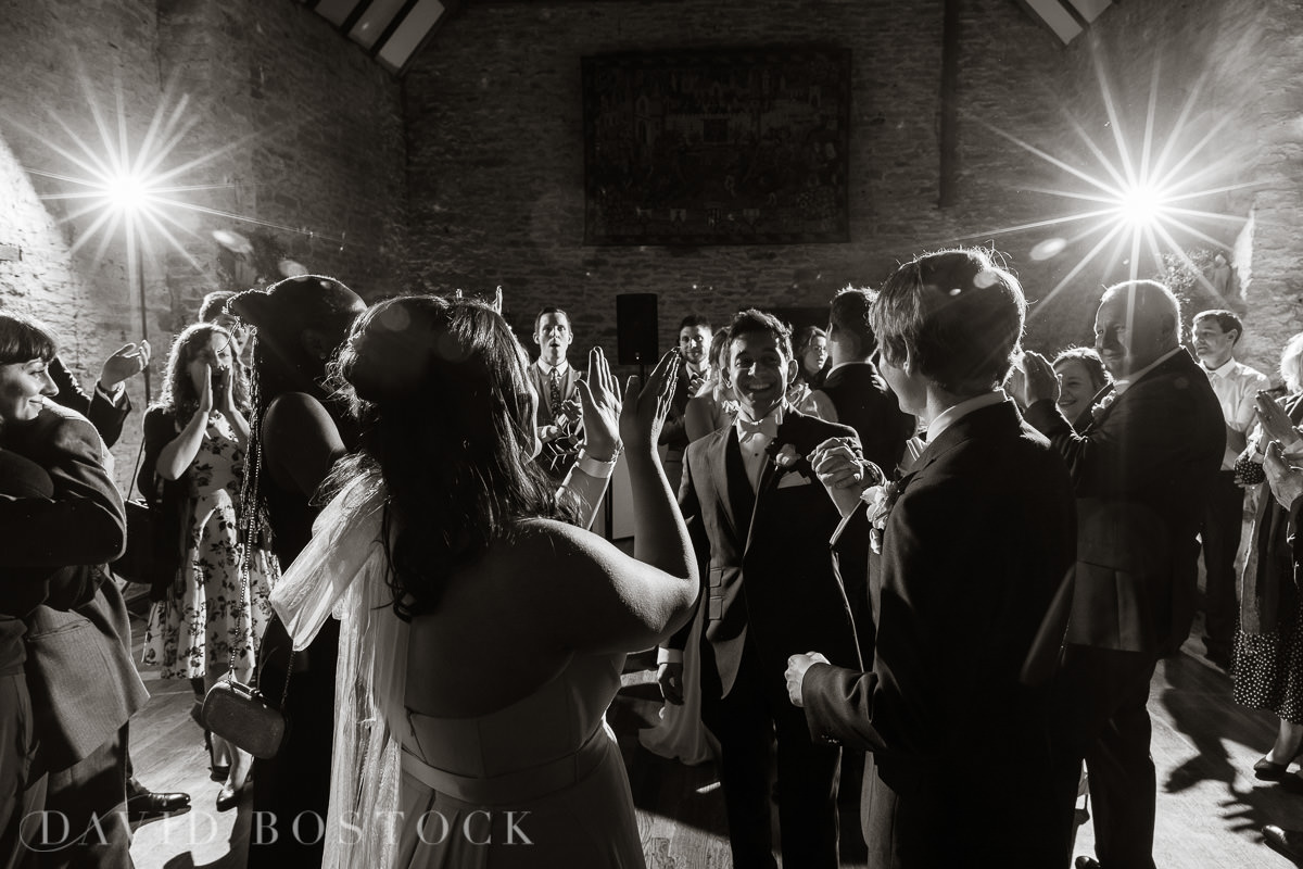 The Great Barn Aynho wedding dancing