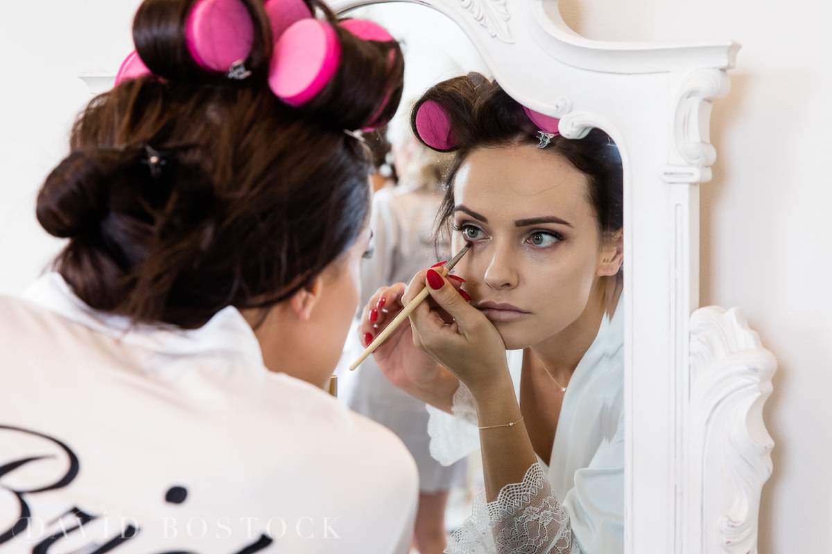 Hedsor House wedding bride make up