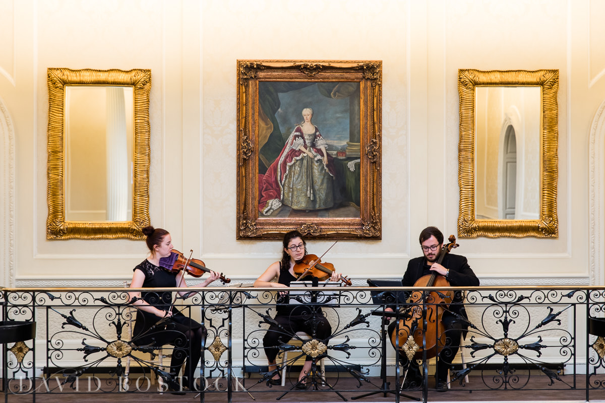 Hedsor House wedding string trio