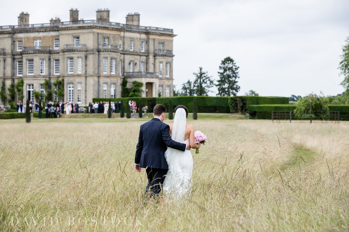 Hedsor House wedding bride and groom romantic