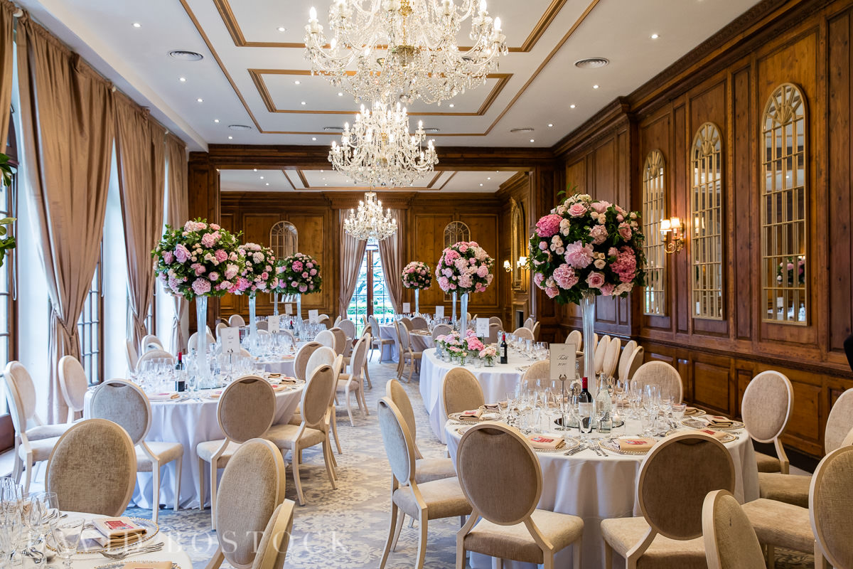 Hedsor House wedding breakfast