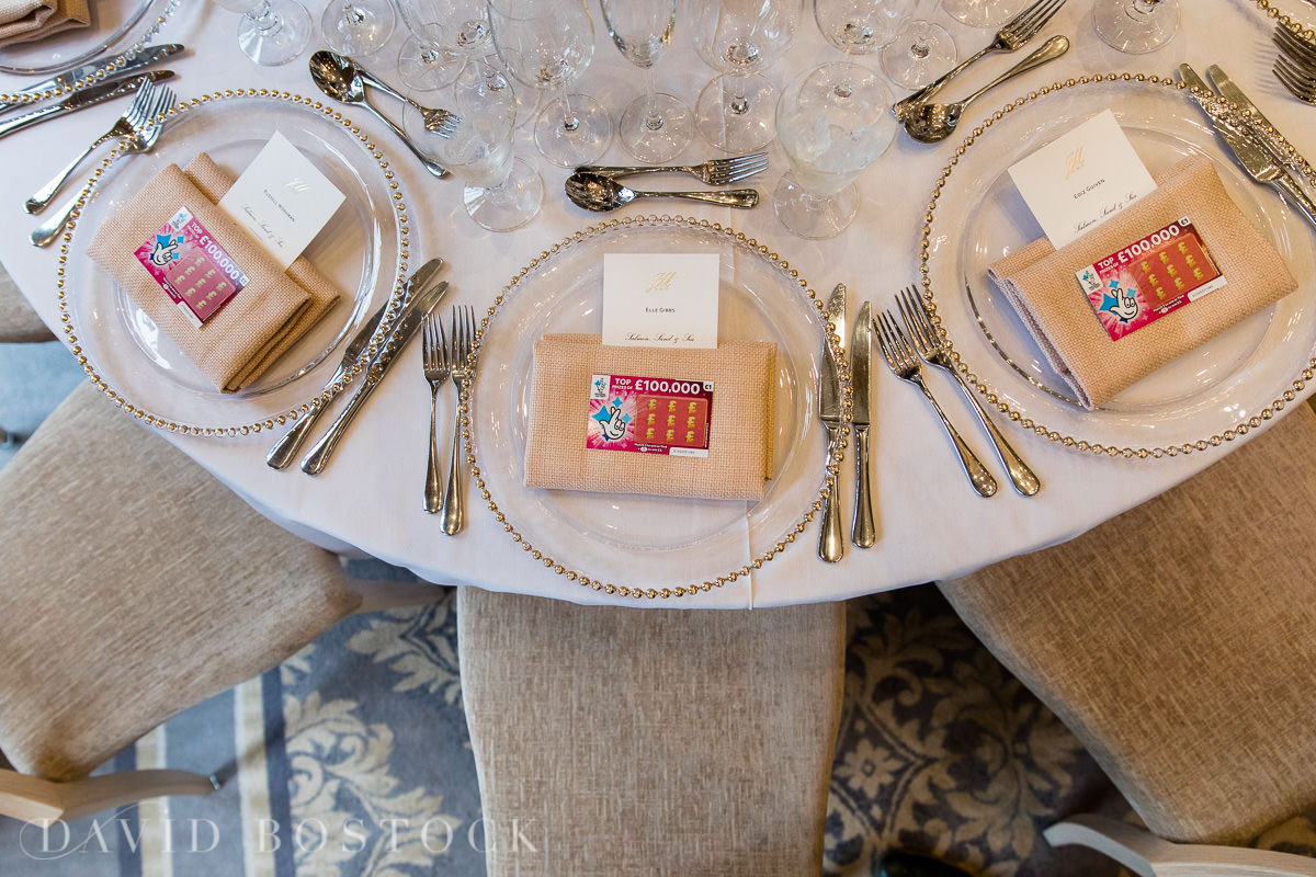 Hedsor House wedding favours