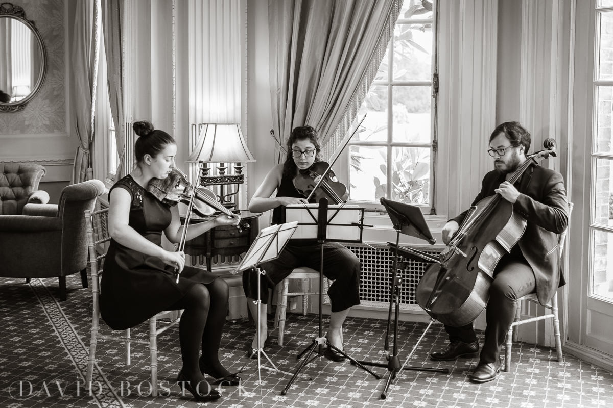 Hedsor House wedding strings