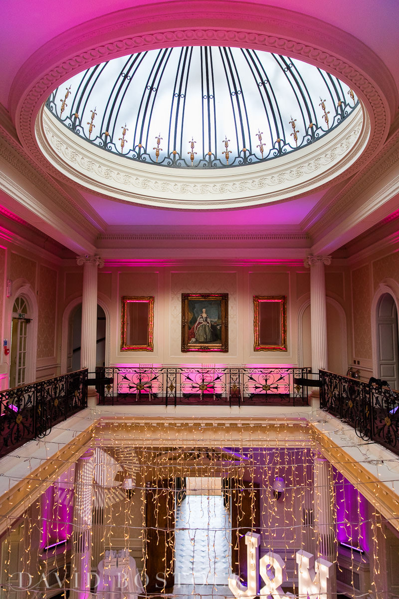 Hedsor House wedding evening