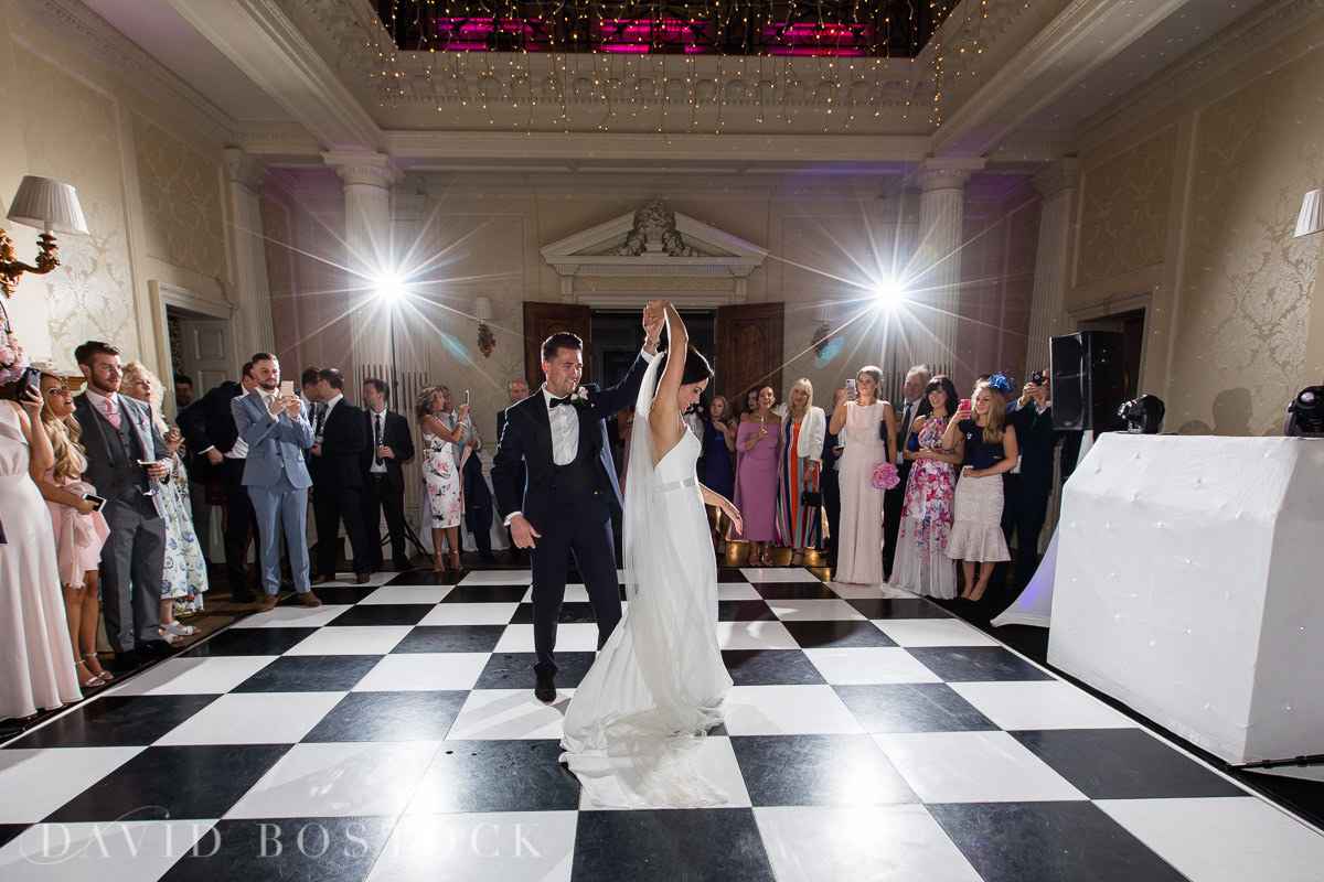 Hedsor House wedding first dance