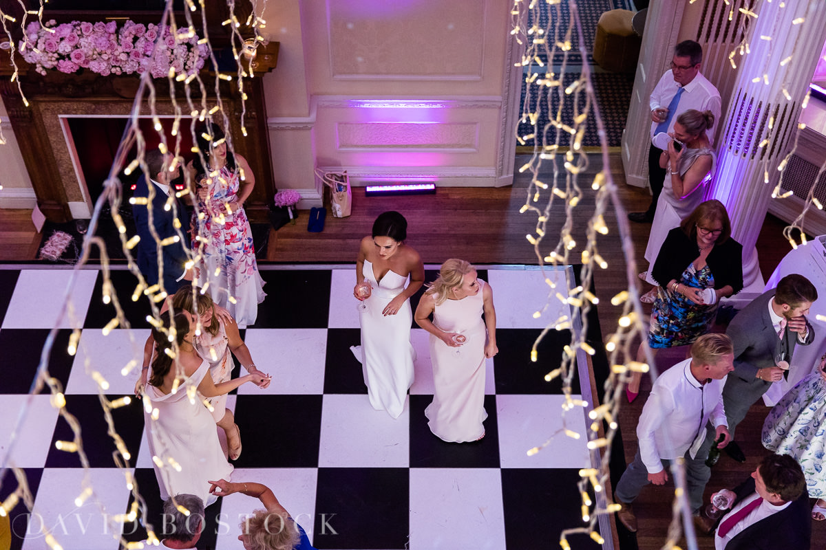 Hedsor House wedding party bride