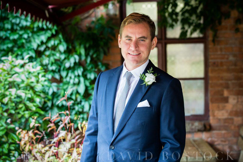 The Dairy Waddesdon wedding groom