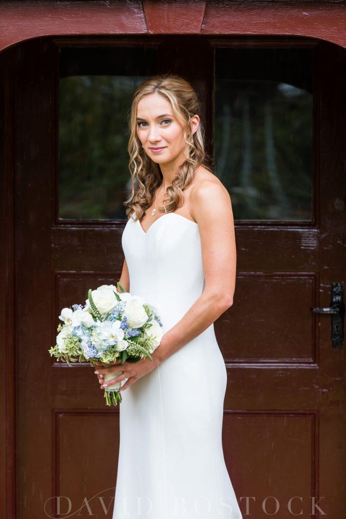 The Dairy Waddesdon wedding beautiful bride