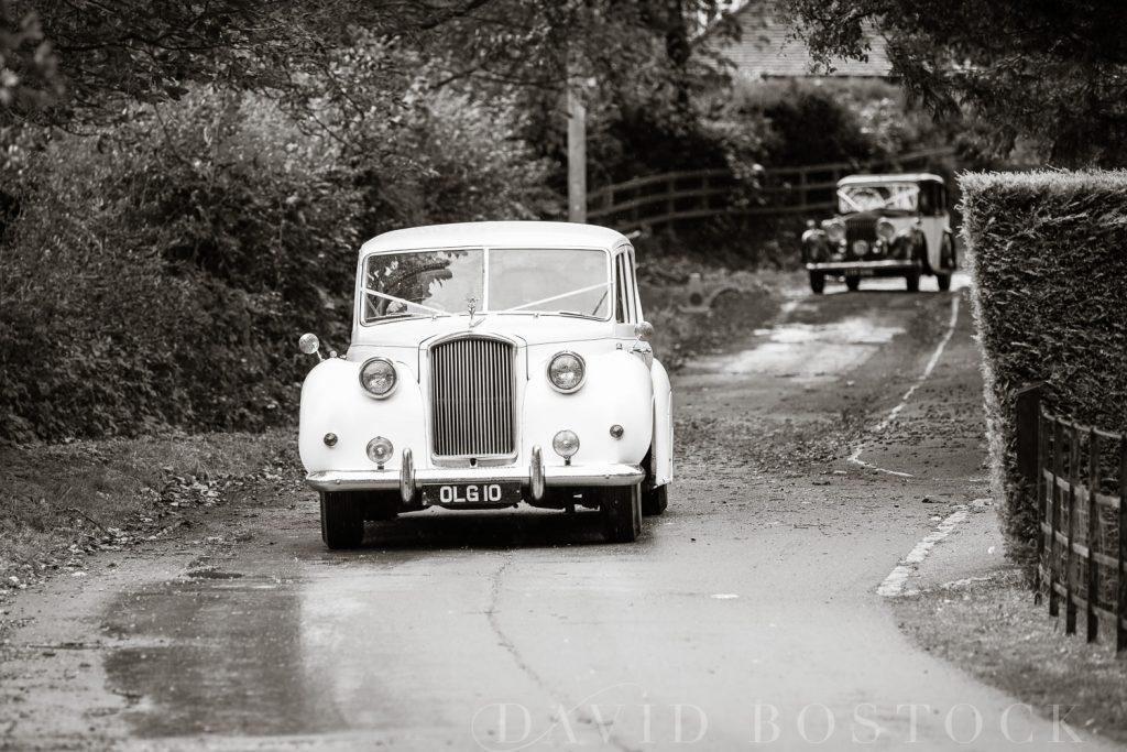 The Dairy Waddesdon wedding car
