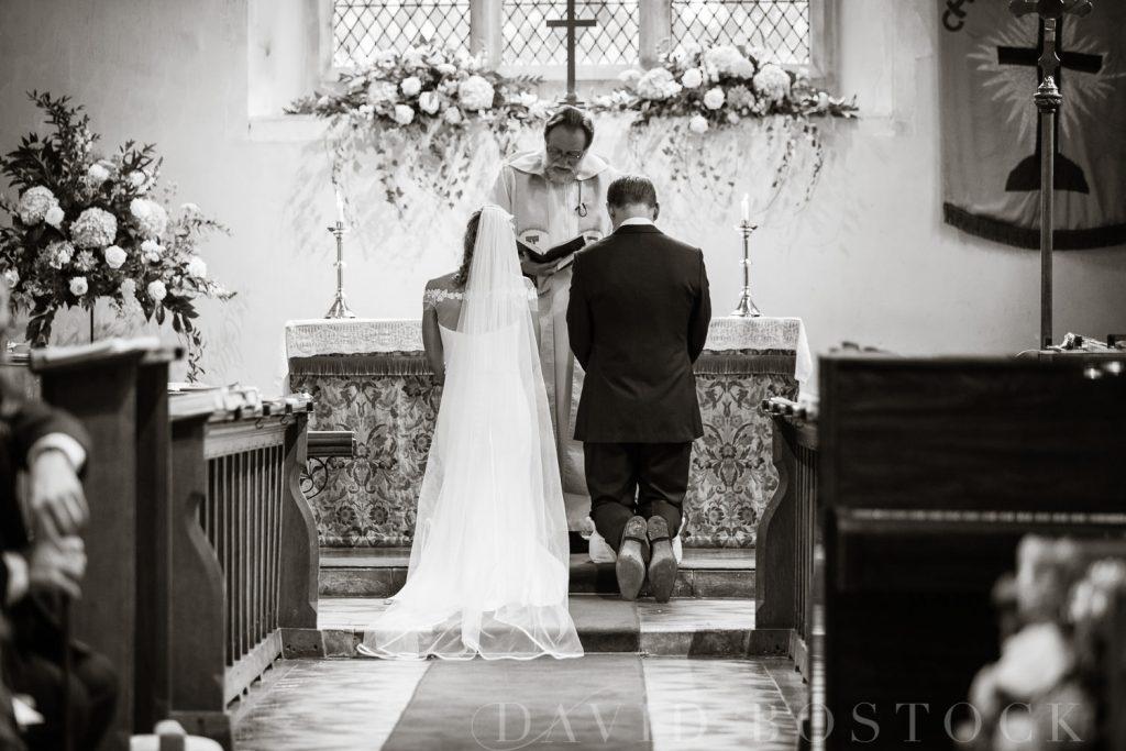 The Dairy Waddesdon wedding church service