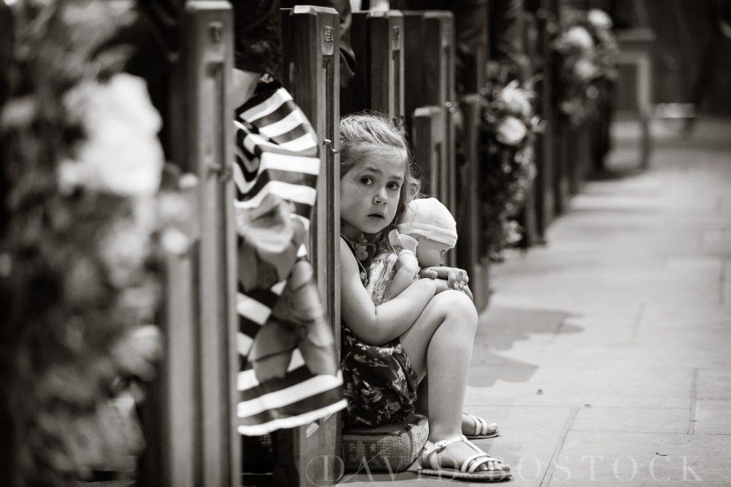 The Dairy Waddesdon wedding little girl