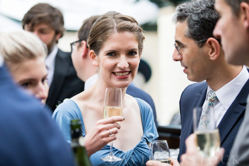 The Dairy Waddesdon wedding reception drinks