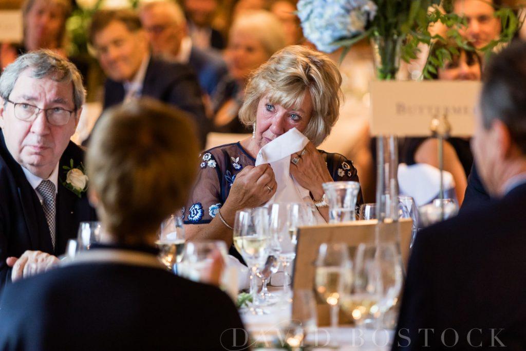 The Dairy Waddesdon wedding speeches emotional