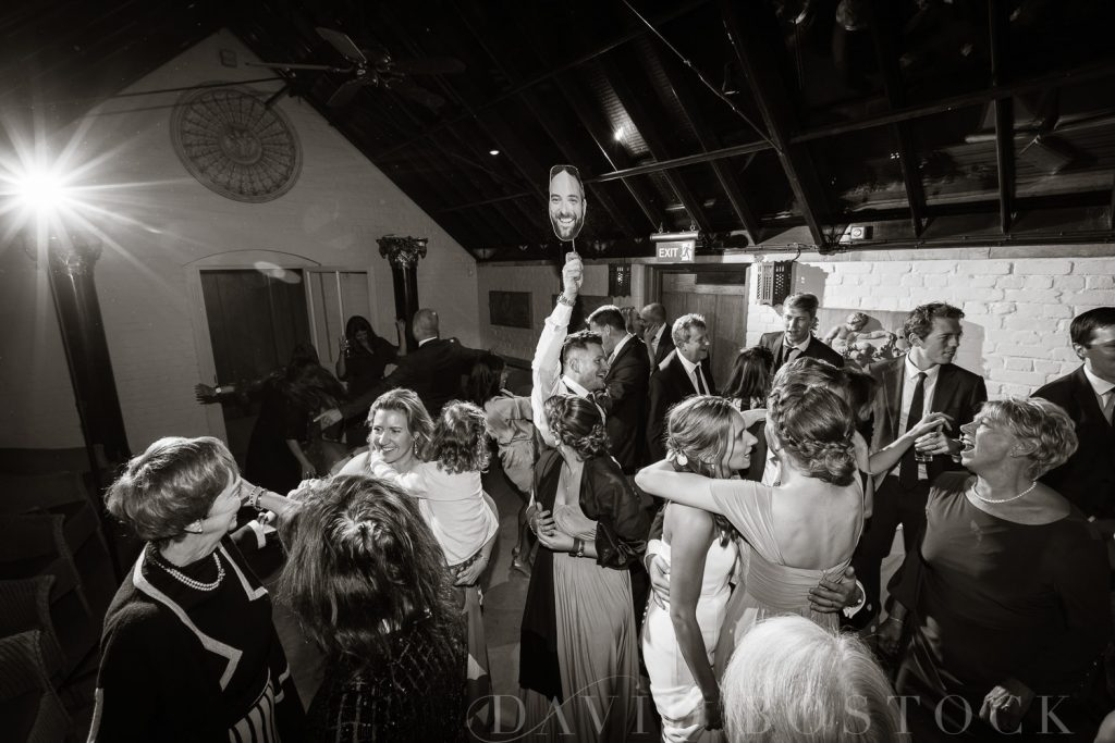 The Dairy Waddesdon wedding dance floor